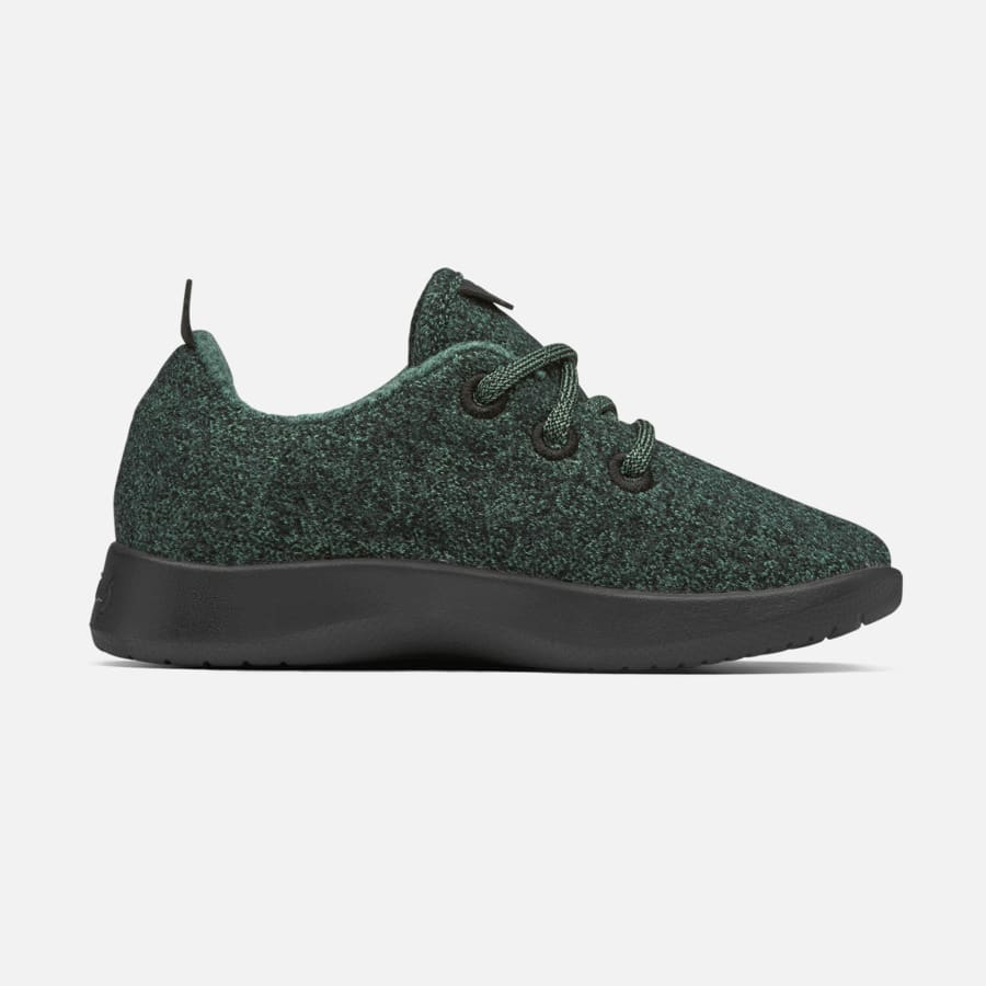 [SQUARE]:Dark NZ Green (Black Sole)