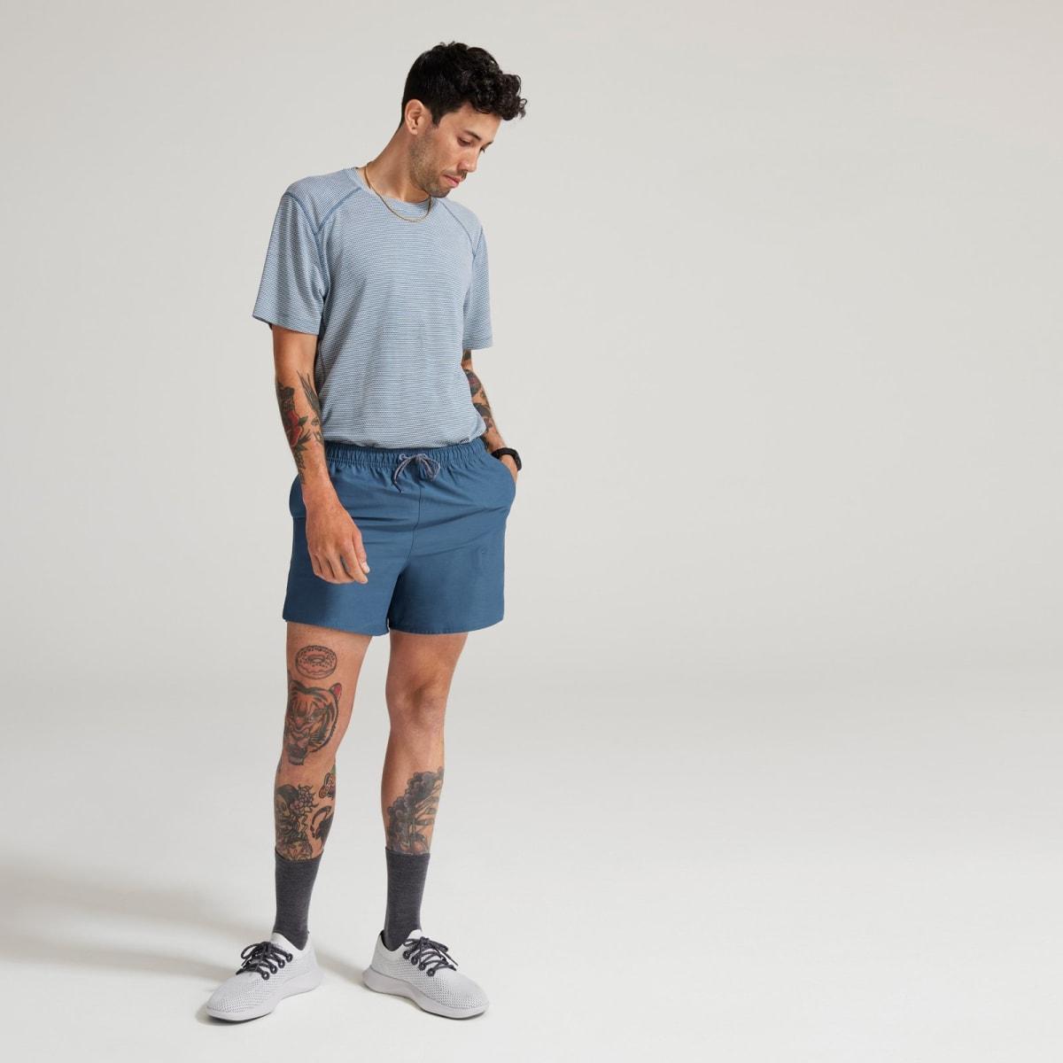 Men's Natural Run Short - Shadow