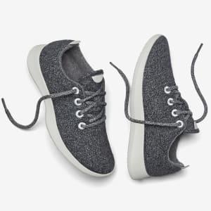 Women's Wool Runners - Natural Grey