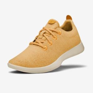 Men's Wool Runners - Tuke Honey (Yellow