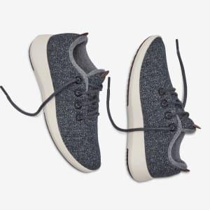 Wool Runner-up Mizzles - Natural Grey