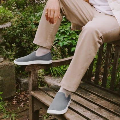 Allbirds Men/'s Tree Loungers Kauri Zin//White Sole Comfort Shoes FLSAMP