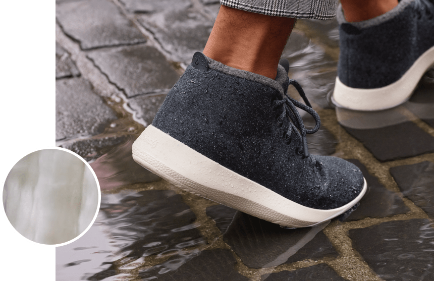 Allbirds Women/'s Wool Runner-up Mizzles Natural Grey//Grey Sole Shoes NW//OB